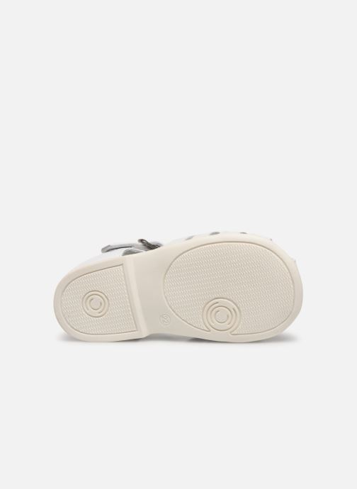 Sandales et nu-pieds Cendry Jeanne Blanc vue haut