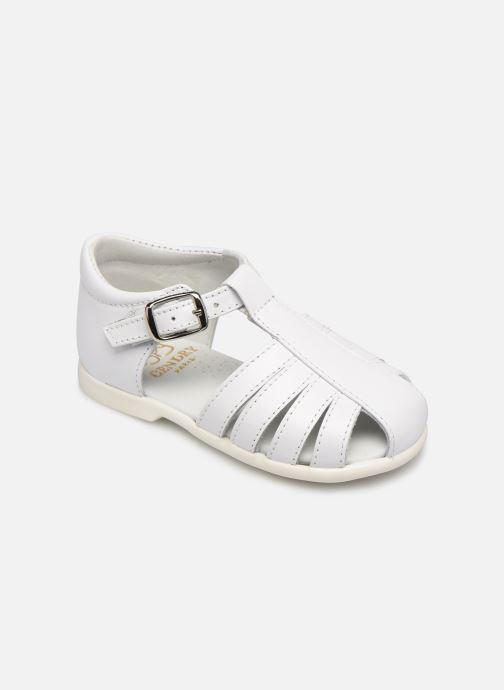 Sandales et nu-pieds Cendry Jeanne Blanc vue détail/paire