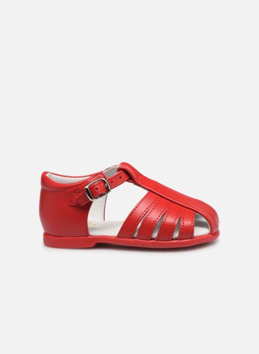 Sandales et nu-pieds Cendry Jeanne Rouge vue derrière