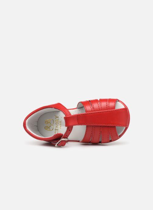 Sandales et nu-pieds Cendry Jeanne Rouge vue gauche