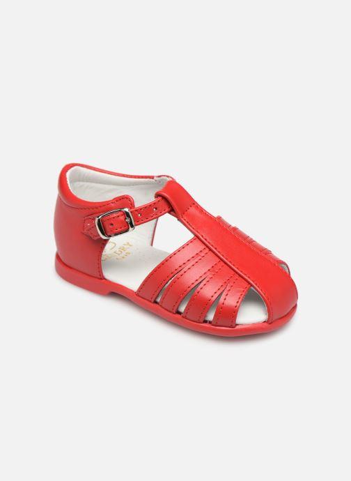 Sandales et nu-pieds Cendry Jeanne Rouge vue détail/paire