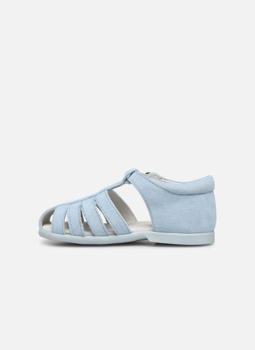 Sandalen Cendry Jeanne blau ansicht von vorne