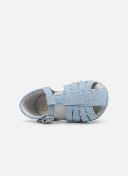 Sandals Cendry Jeanne Blue view from the left