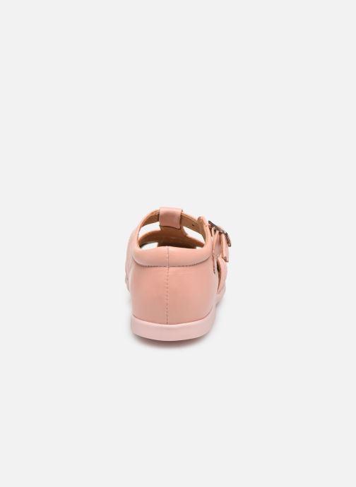 Sandali e scarpe aperte Cendry Jeanne Rosa immagine destra