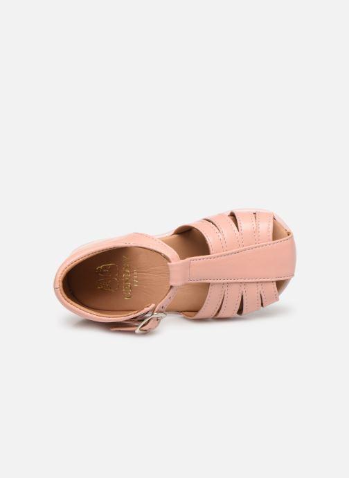 Sandali e scarpe aperte Cendry Jeanne Rosa immagine sinistra