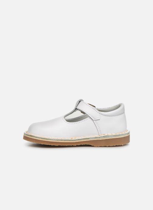 Sandales et nu-pieds Cendry Louise Blanc vue face