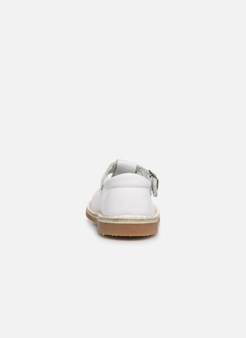 Sandales et nu-pieds Cendry Louise Blanc vue droite