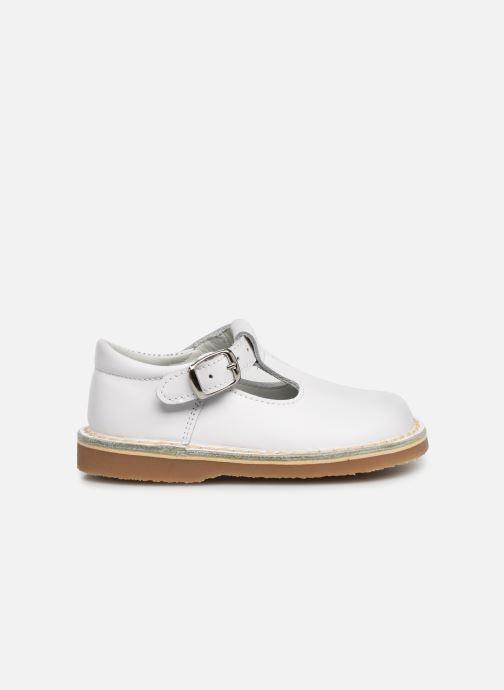 Sandales et nu-pieds Cendry Louise Blanc vue derrière