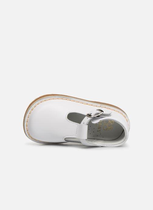 Sandales et nu-pieds Cendry Louise Blanc vue gauche