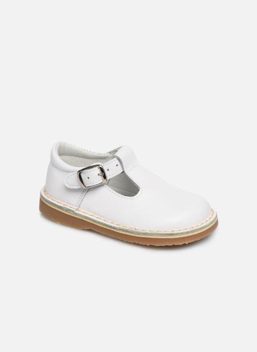 Sandales et nu-pieds Cendry Louise Blanc vue détail/paire