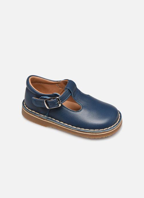 Sandales et nu-pieds Cendry Louise Bleu vue détail/paire