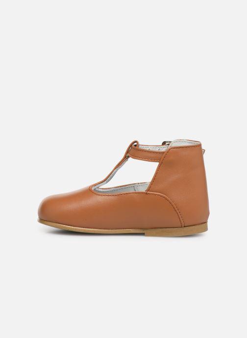 Sandales et nu-pieds Cendry Ines Marron vue face