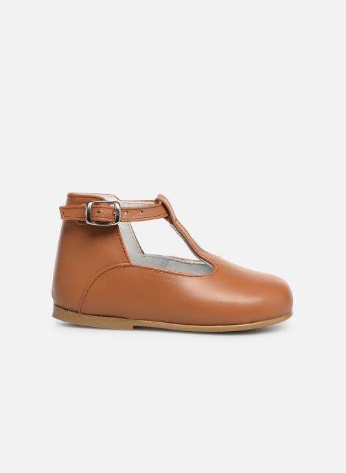 Sandalen Cendry Ines braun ansicht von hinten