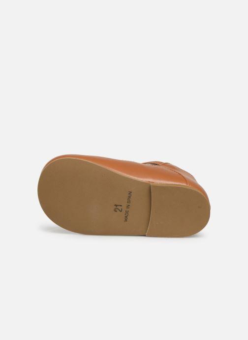 Sandales et nu-pieds Cendry Ines Marron vue haut