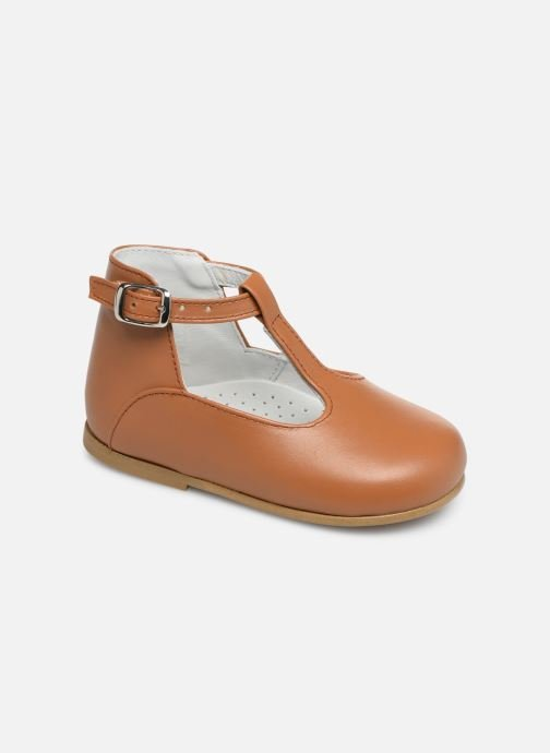 Sandals Cendry Ines Brown detailed view/ Pair view