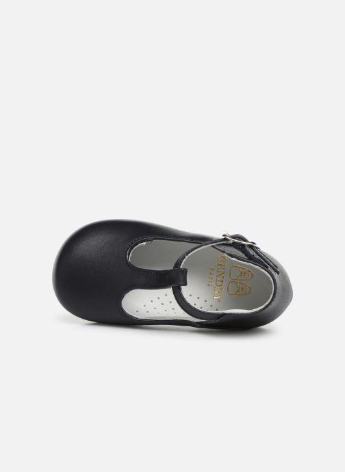 Sandales et nu-pieds Cendry Ines Bleu vue gauche