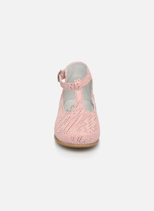 Sandales et nu-pieds Cendry Ines Rose vue portées chaussures