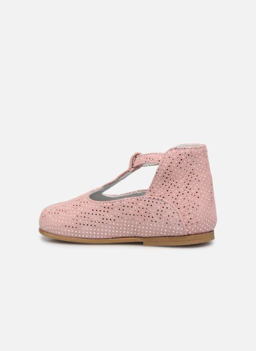 Sandales et nu-pieds Cendry Ines Rose vue face