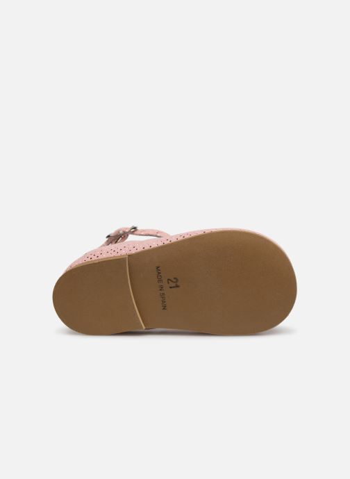 Sandales et nu-pieds Cendry Ines Rose vue haut