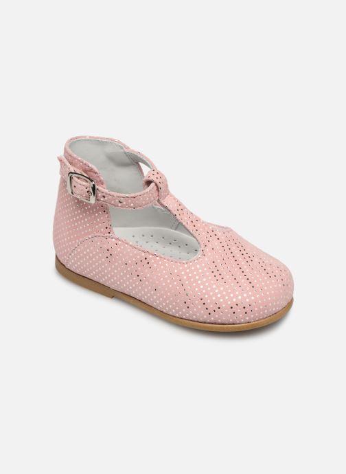 Sandales et nu-pieds Cendry Ines Rose vue détail/paire