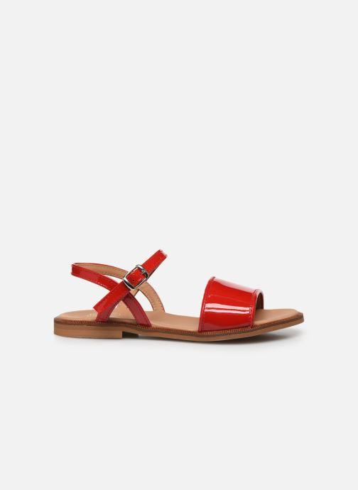 Sandales et nu-pieds Cendry Camille Rouge vue derrière
