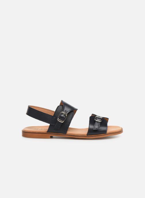 Sandales et nu-pieds Cendry Achille Bleu vue derrière