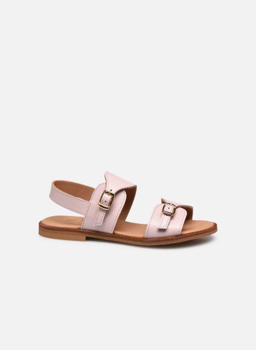 Sandales et nu-pieds Cendry Achille Rose vue derrière