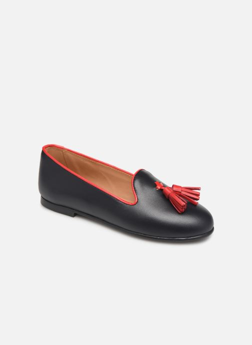 Ballet pumps Cendry Lucie Blue detailed view/ Pair view
