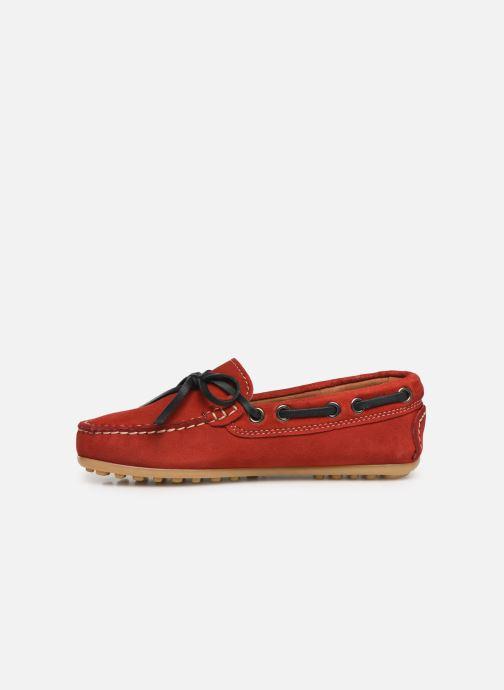 Chaussures à lacets Cendry Alexandre Rouge vue face