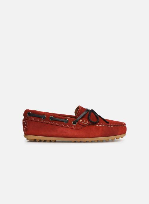 Chaussures à lacets Cendry Alexandre Rouge vue derrière