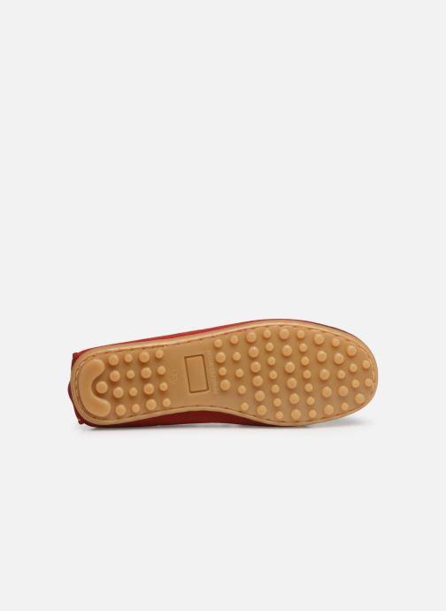 Chaussures à lacets Cendry Alexandre Rouge vue haut