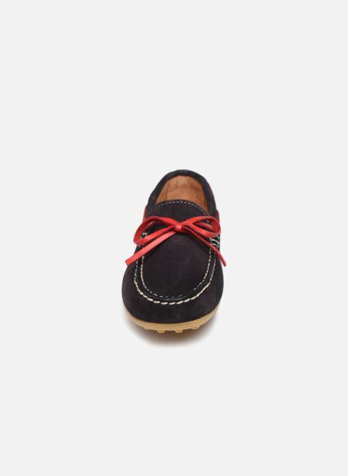 Chaussures à lacets Cendry Alexandre Bleu vue portées chaussures