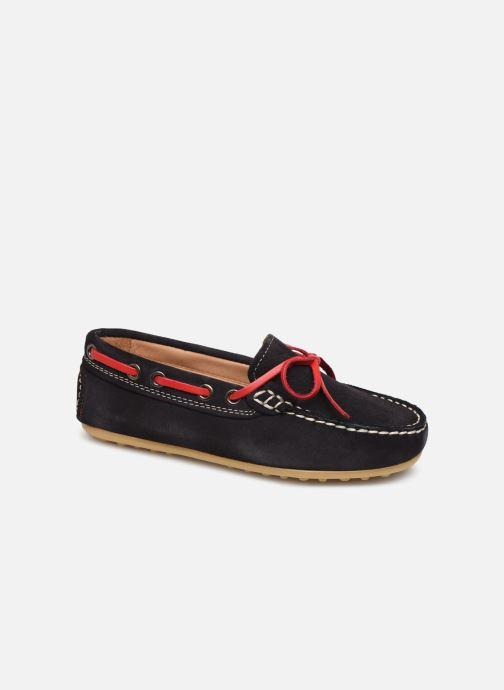 Chaussures à lacets Cendry Alexandre Bleu vue détail/paire