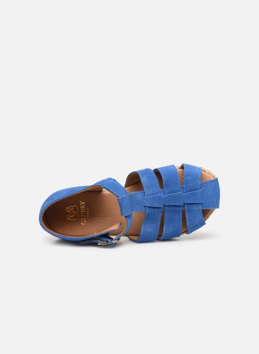 Sandali e scarpe aperte Cendry Sasha Azzurro immagine sinistra