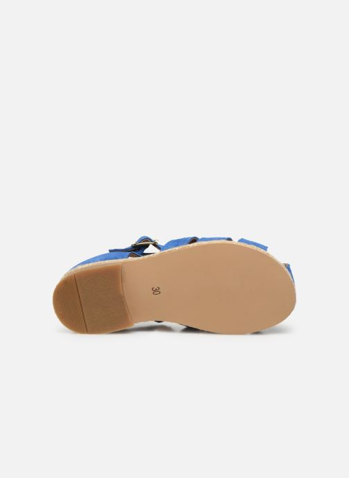 Sandali e scarpe aperte Cendry Sasha Azzurro immagine dall'alto