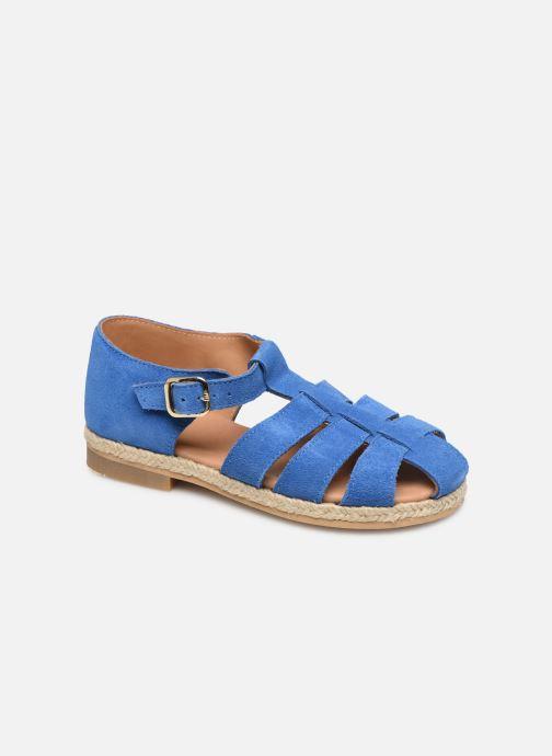 Sandales et nu-pieds Cendry Sasha Bleu vue détail/paire