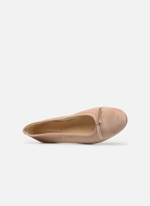 Bailarinas Elizabeth Stuart Iris 300 Beige vista lateral izquierda