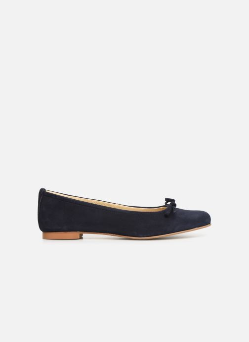 Ballet pumps Elizabeth Stuart Iris 300 Blue back view