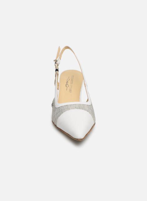 Escarpins Elizabeth Stuart Rex 200 Blanc vue portées chaussures