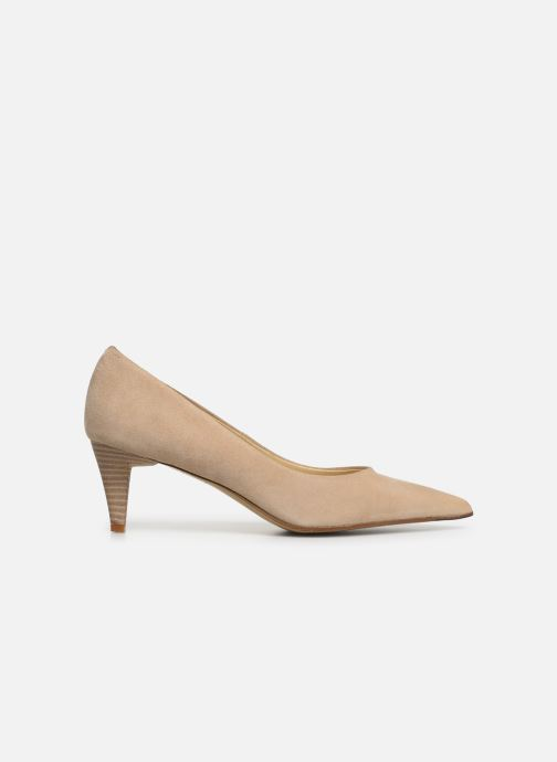 High heels Elizabeth Stuart Reza 300 Beige back view