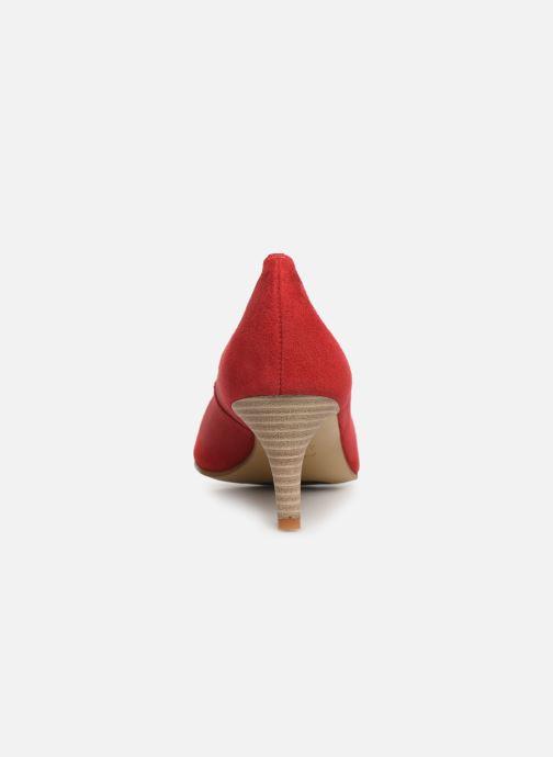 Escarpins Elizabeth Stuart Reza 300 Rouge vue droite