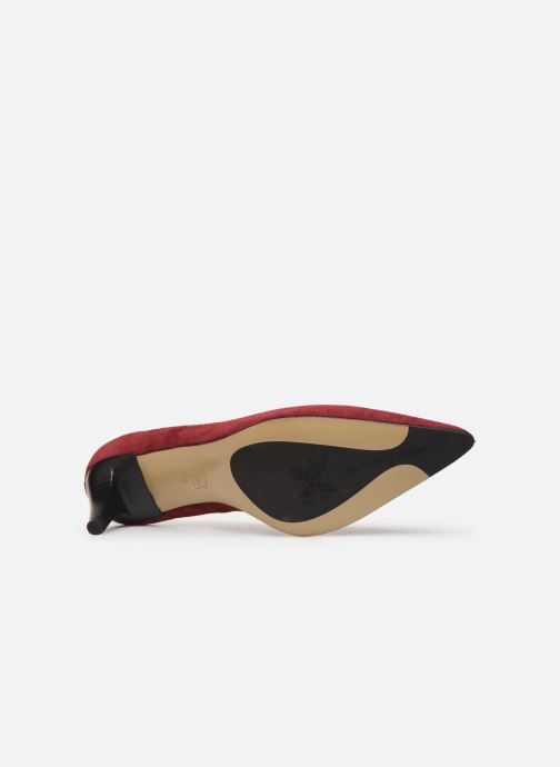 Zapatos de tacón Elizabeth Stuart Reza 300 Vino vista de arriba