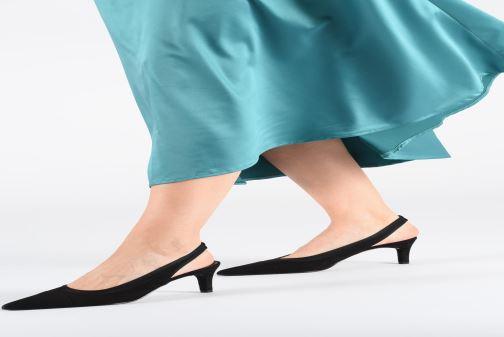 High heels Elizabeth Stuart Ryval 300 Black view from underneath / model view