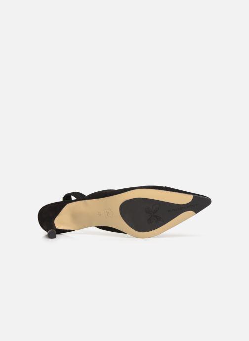 High heels Elizabeth Stuart Ryval 300 Black view from above