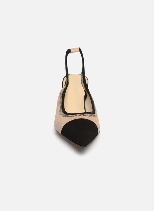High heels Elizabeth Stuart Ryval 300/2 Beige model view