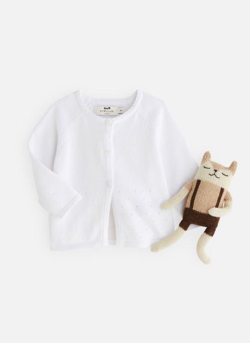 Vêtements Cyrillus Airelle Blanc vue détail/paire