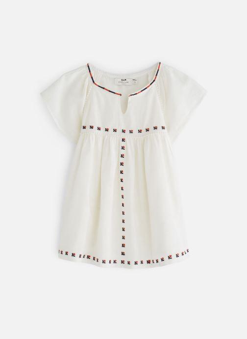 Vêtements Cyrillus Aubane Blanc vue détail/paire