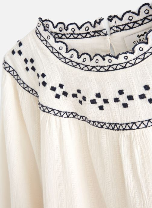 Vêtements Cyrillus Armance Blanc vue portées chaussures