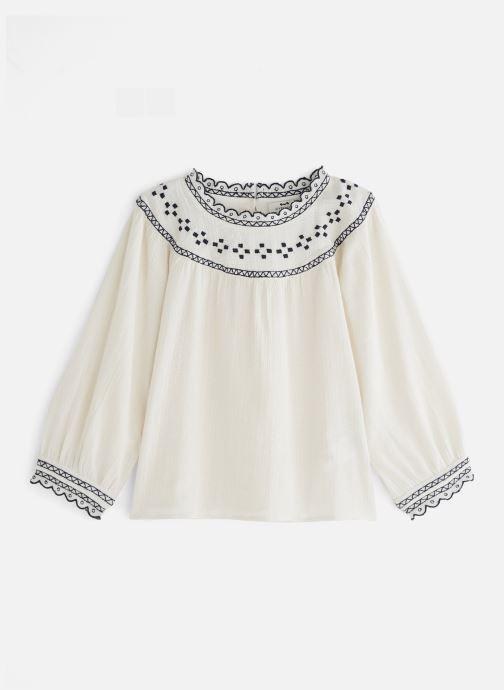 Vêtements Cyrillus Armance Blanc vue détail/paire