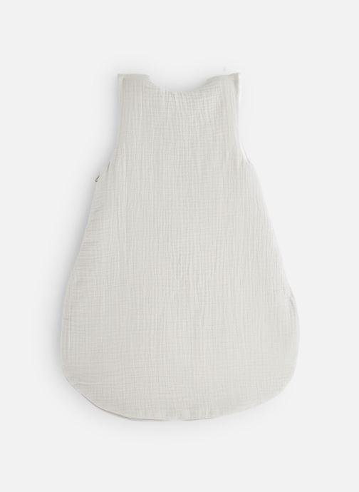 Vêtements Cyrillus Gigoteuse Coton Gaufre Etoiles Gris Blanc vue bas / vue portée sac